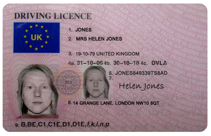 fine for driving a manual car with an automatic licence
