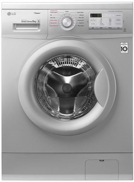 lg inverter front load washing machine manual