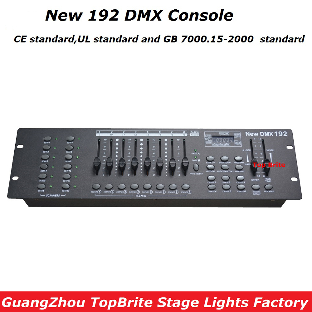 192 dmx lighting controller manual