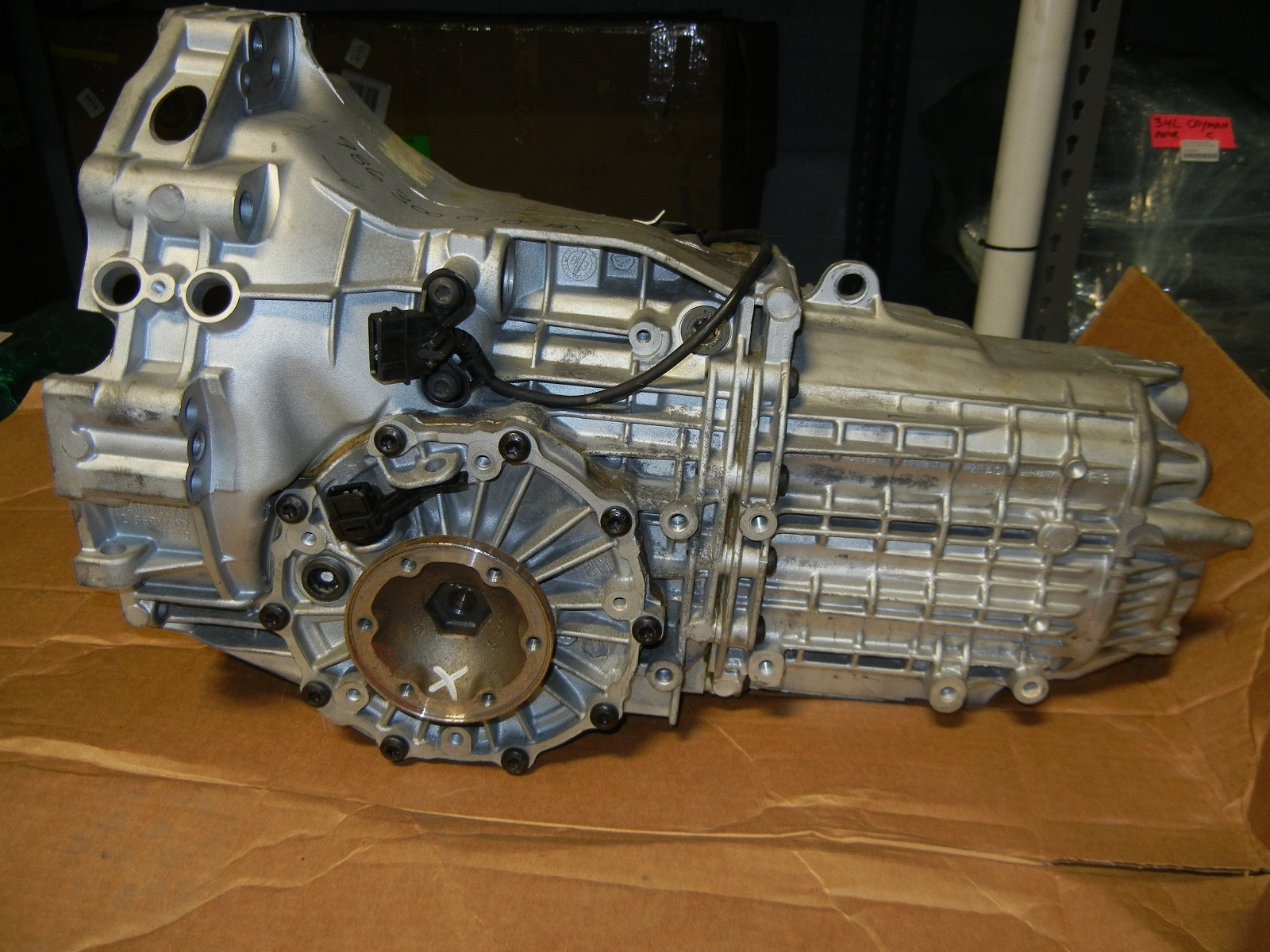 vx v6 manual gearbox for sale