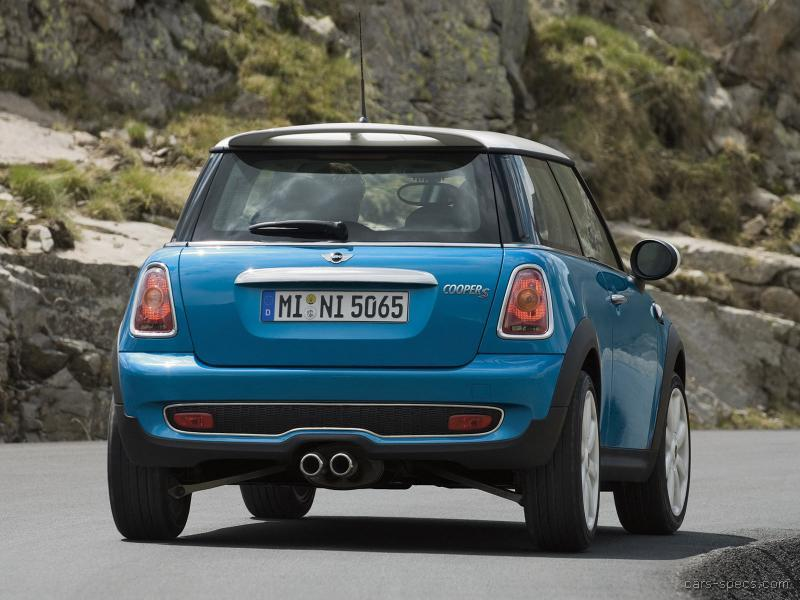 2007 mini hatch cooper s owners manual