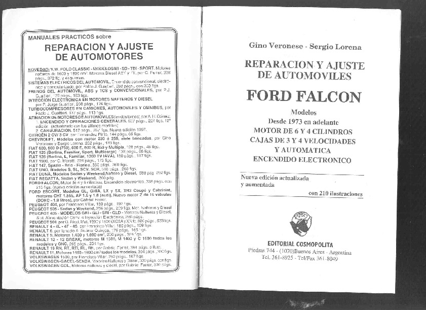 ford falcon el manual pdf