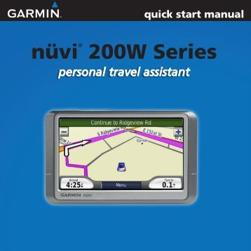 garmin 800 quick start manual