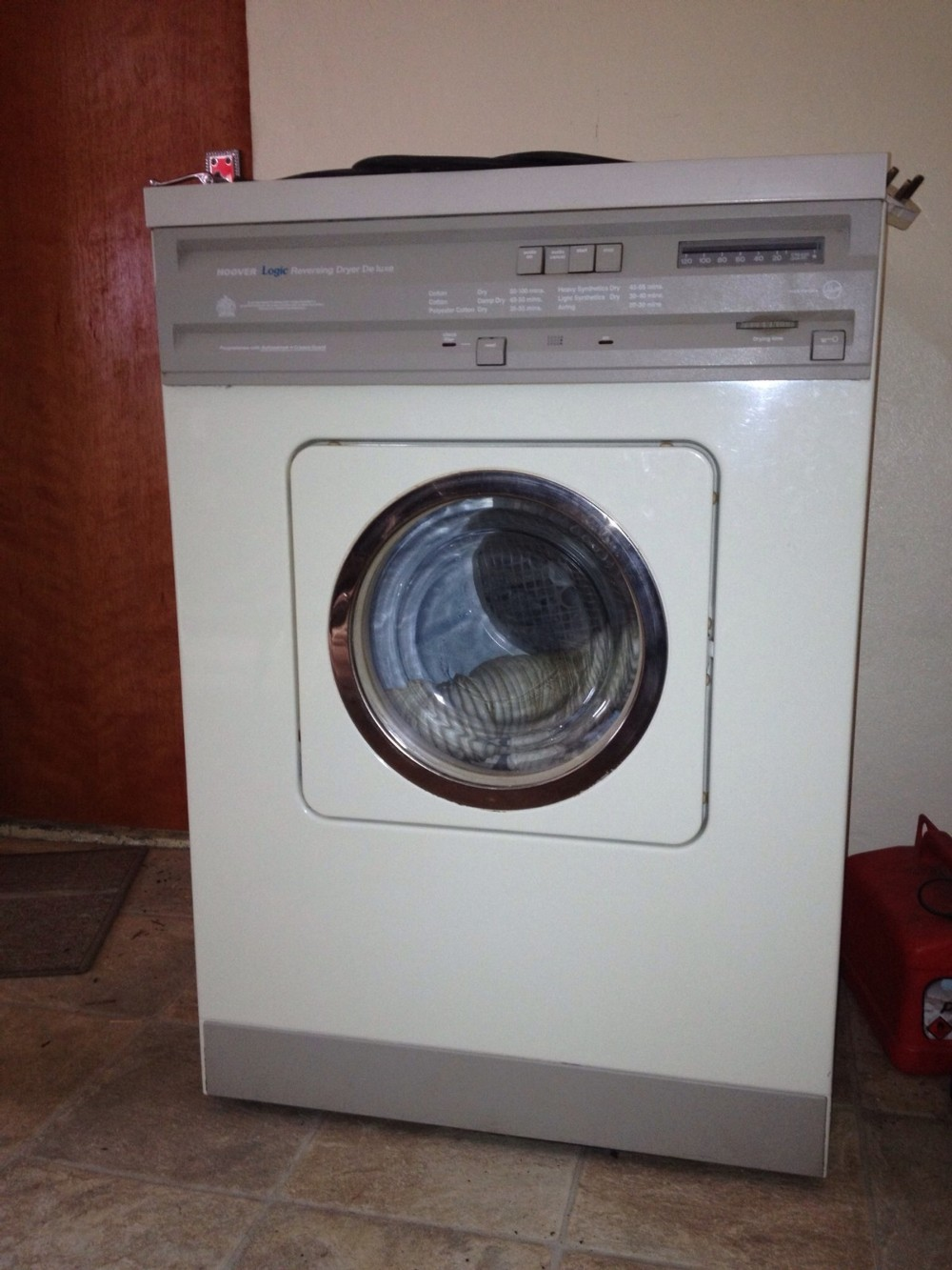 hoover mounted dryer user manual