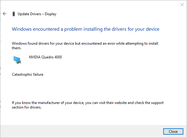 how to manually install new graphics card drivers windows 10