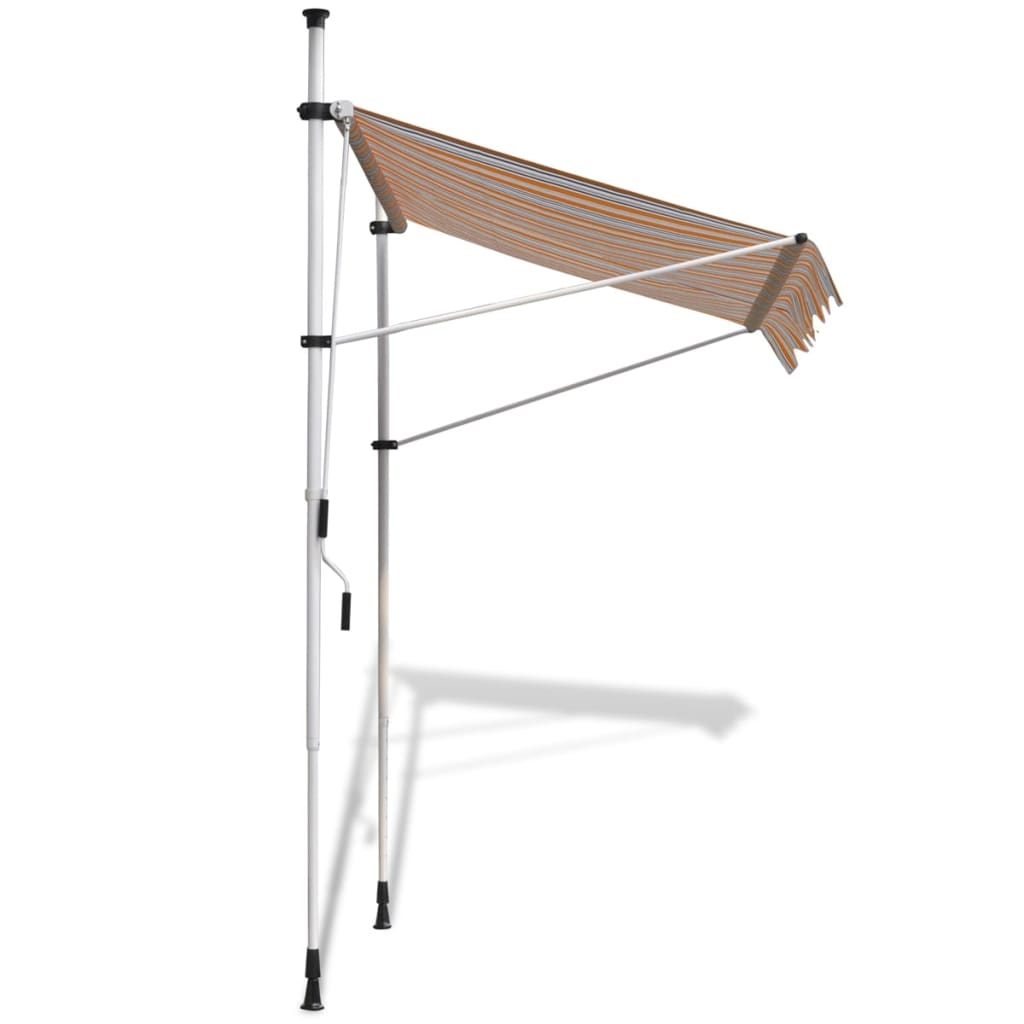 how to manually retract somfy awning