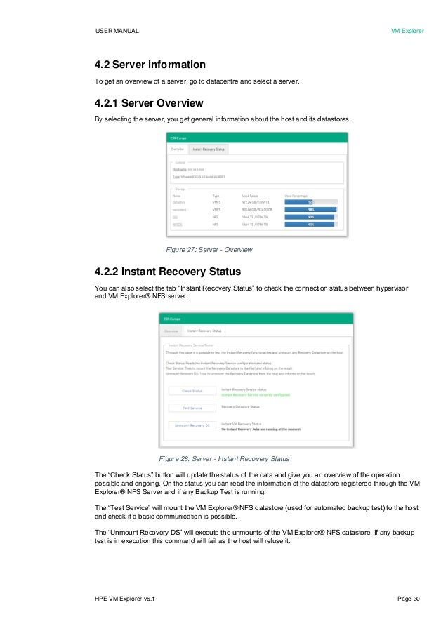 hpe vm explorer user manual