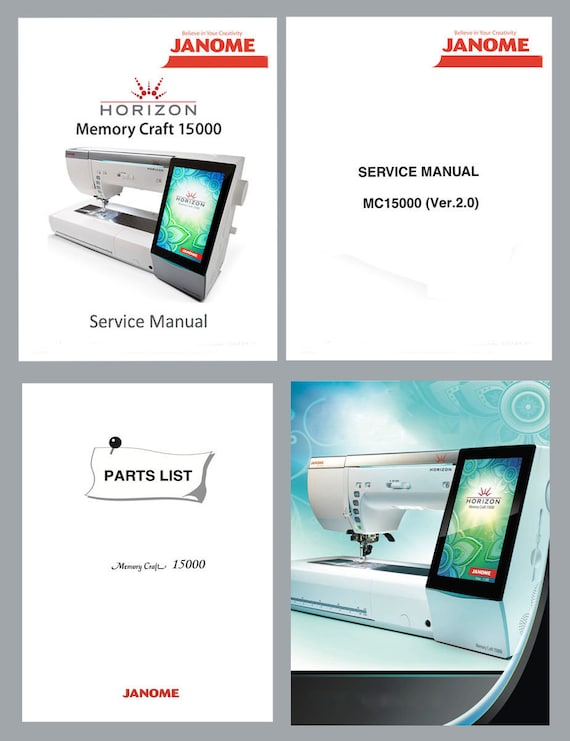 janome memory craft 5200 manual download