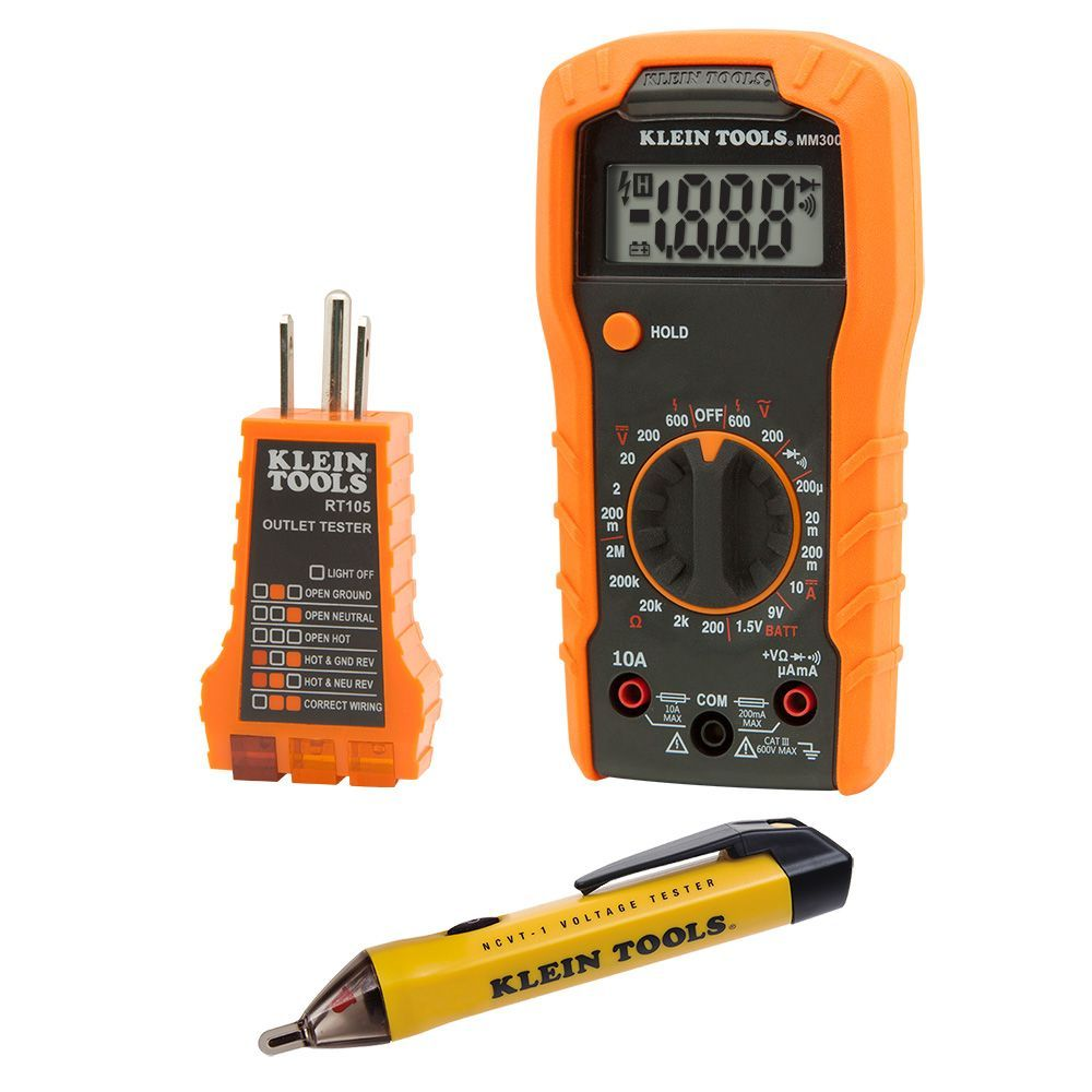 klein voltage tester ncvt 2 manual