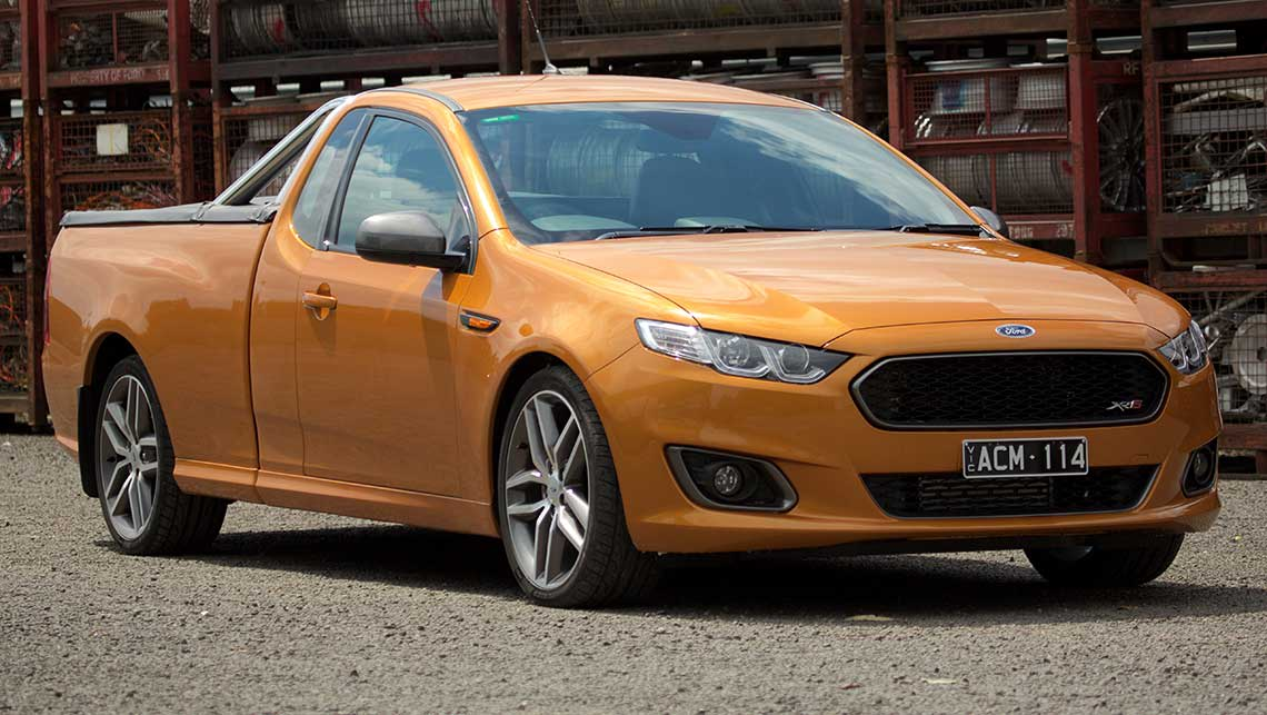 manual fg xr6 ute for sale