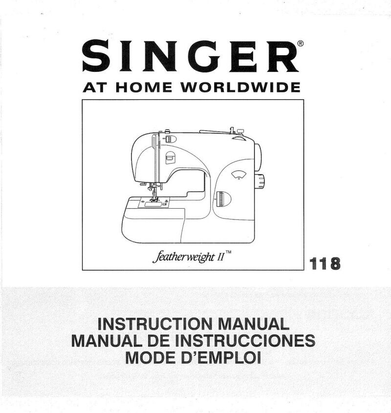manual.for singer heritage ebay