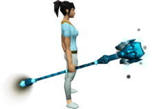 manually target your opponet when casting spells rs3