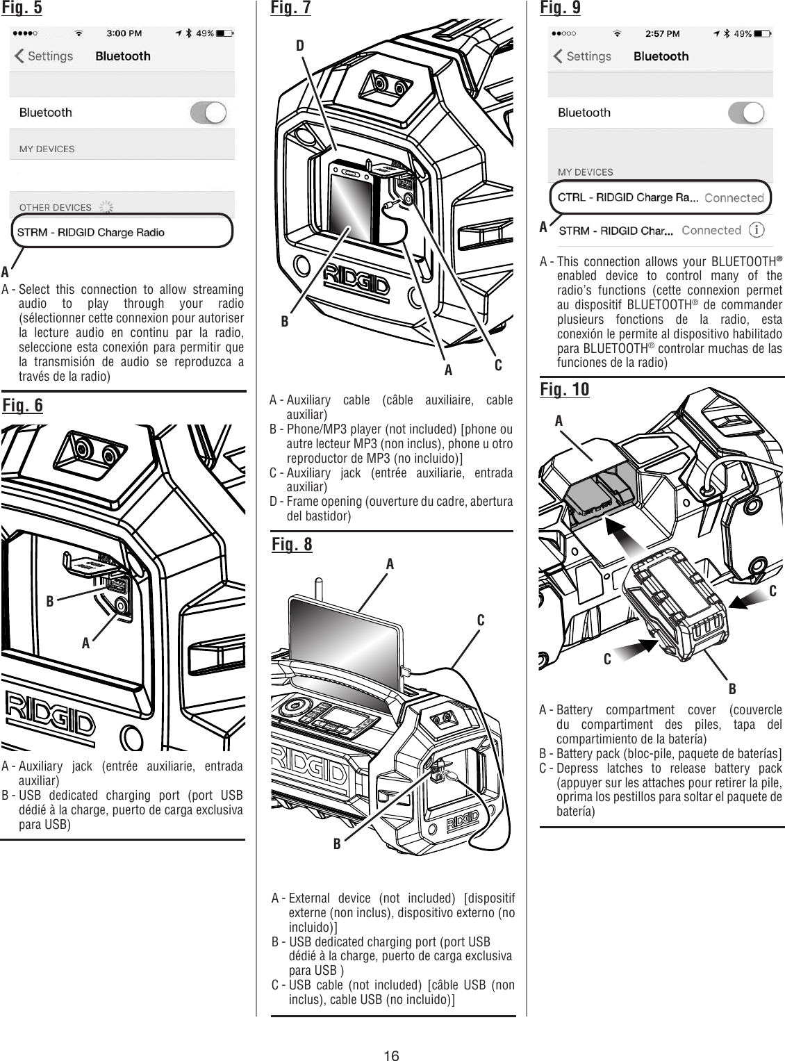 mb-3700 charger users manual