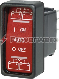 ml-acr automatic charging relay with manual control 12v dc 500a