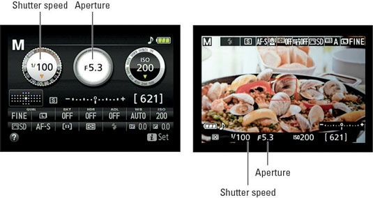 nikon d5300 manual how to change f stop