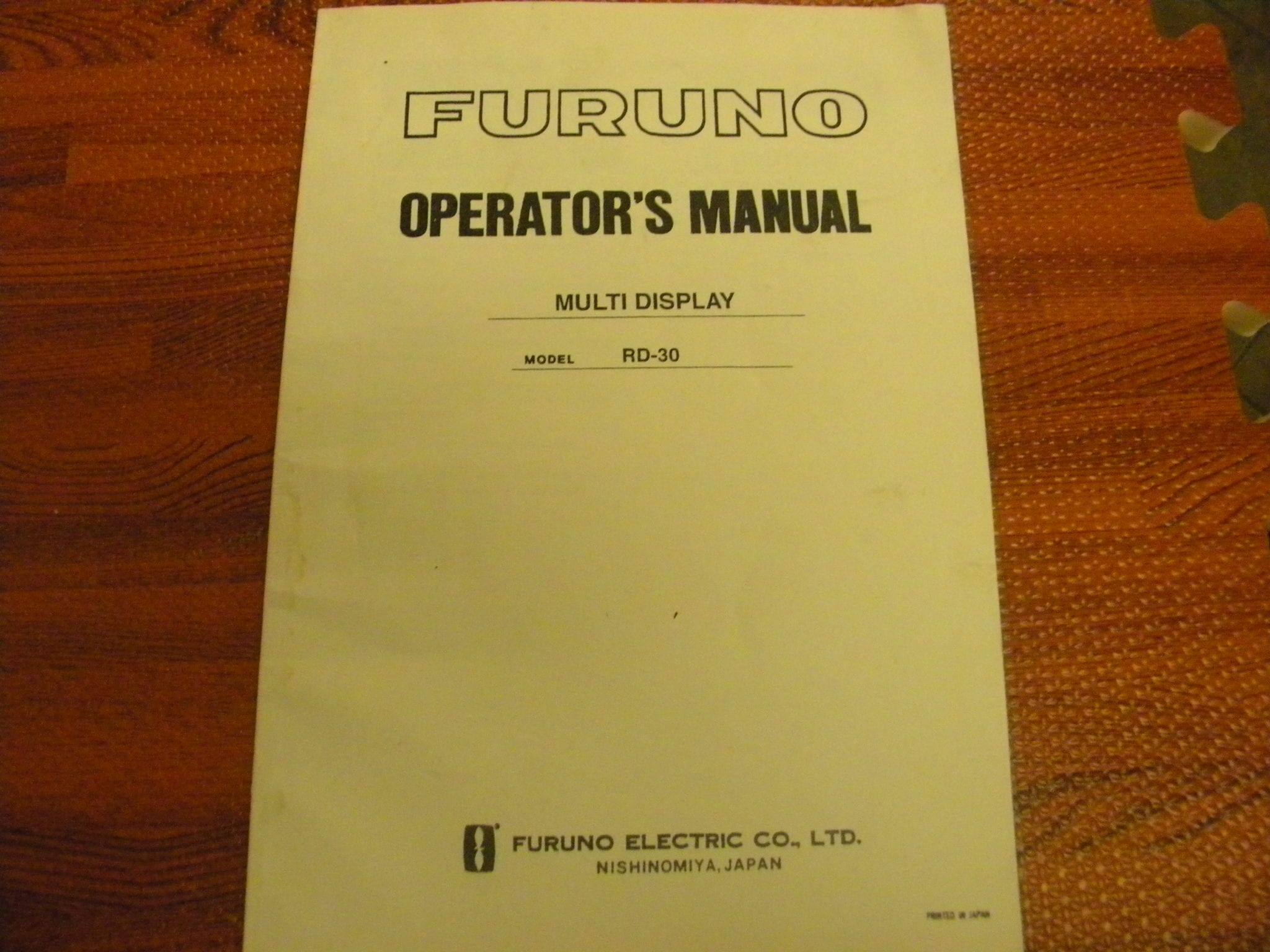 operator manual for international s line