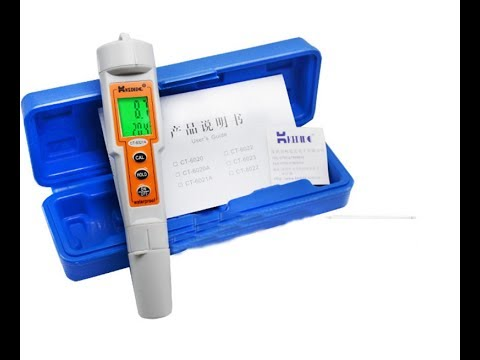ph meter ct-6021a manual