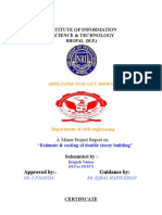 quantity surveying and estimation lab manual