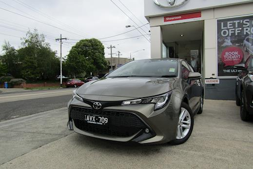 toyota corolla sx hatch cvt manual