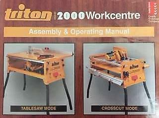 triton mk3 2000 workcentre manual